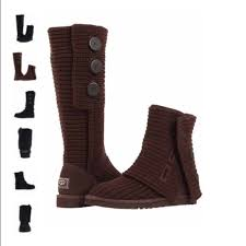ugg boots shoes sale 75 ugg shoes sale brown knitted ugg boots with buttons