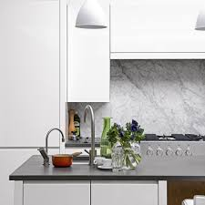 Splashback Ideas For Kitchens White Kitchens Ideal Home
