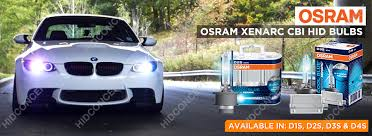 new osram xenarc 6000k cool blue intense cbi d4s hid xenon bulbs