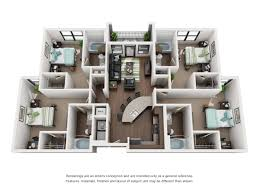 floor plans of apartments floor plans the domain at columbia student apartments