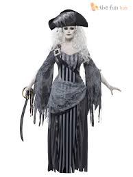 ladies zombie pirate costume ghost ship womens halloween fancy
