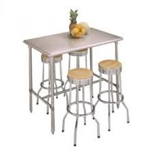 metal bar height table stainless steel bar height table home decorating ideas