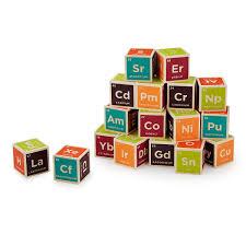 periodic table building blocks toy blocks element blocks