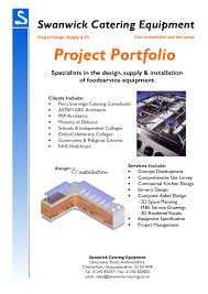 project portfolio by swanwick catering equipment issuu