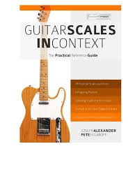 guitar scales in context pdf minor scale mode music