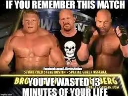 Wrestlemania Meme - worst wrestlemania match memes youtube