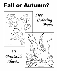 coloring pages fall printable fall coloring pages sheets and pictures