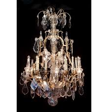 Crystal And Bronze Chandelier Baccarat Crystal And Dore Bronze Chandelier 28 Lights John