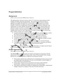 ut market project charter document free download