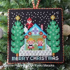 gera by kyoko maruoka santa has come i cross stitch pattern