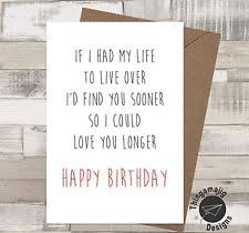 boyfriend birthday card ebay