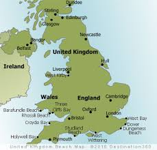 map of uk uk beaches map uk map