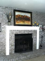 100 redo your fireplace beautiful brick fireplace makeover
