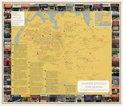 City Map Of New Orleans by The Arty Maps Of U0027nonstop Metropolis U0027 Show Nyc The Way Locals