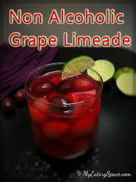 Non Alcoholic Thanksgiving Drinks Grape Limeade A Non Alcoholic Drink My Eating Space