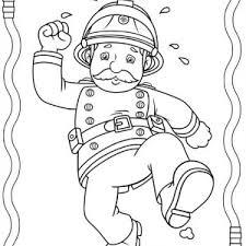 fireman sam friends fire trucks coloring coloring sky