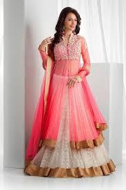 name designer pink panther semi stitched lahenga for women