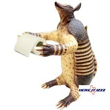 Animal Toilet Paper Holder Armadillo Toilet Paper Holder