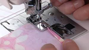 singer rolled hem presser foot tutorial youtube