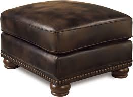 adorable faux leather ottoman luxury large brown faux leather