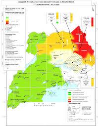 Uga Map Ipcinfo Map Detail