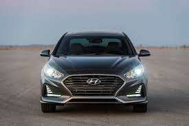 hyundai vehicles let u0027s talk about the 2018 hyundai sonata u0027s new face the drive