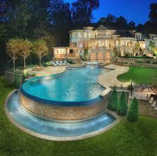 backyard pool design ideas swimming pool raised spa swimup bar