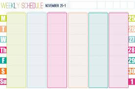 free printable weekly planner template free printable weekly blank calendar templates 2017 calendar weekly calendar template for 2015
