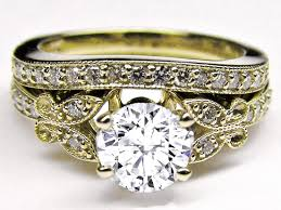 yellow gold wedding band with white gold engagement ring yellow gold engagement rings vintage wedding promise diamond
