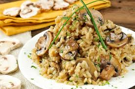 recipe truffled risotto the foxes
