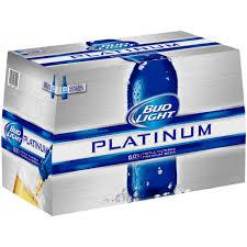 18 pack of bud light price at walmart bud light platinum beer 18 pack 12 fl oz walmart com bud light