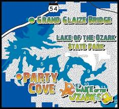 cove lake of the ozarks map lake of the ozarks cove map websites to remember