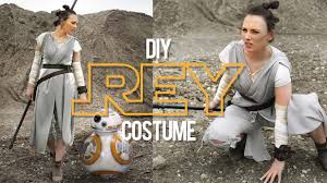 diy rey costume star wars the sorry girls youtube