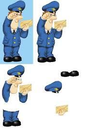 postman pat boxes bags tags u0026 cards postman