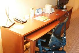 pull out table desk space with pull out table picture of courtyard traverse city