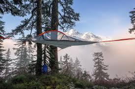 Hanging Tent by Suspended Tent Inhabitat Green Design Innovation