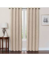 108 Inch Panel Curtains Incredible Deal On Quinn 108 Inch Grommet Top 100 Blackout Window