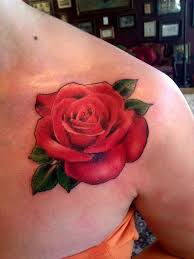 43 best black rose tattoos on chest images on pinterest black
