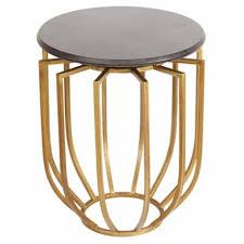 table bout de canape table bout de canapé ronde en fer doré ajouré sur moinat sa