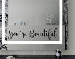 Mirror Stickers Bathroom Inspirational Wall Decals You Got This Bathroom Wall