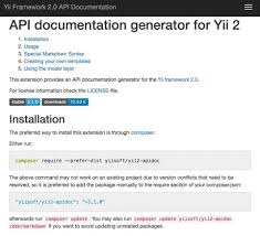 yii2 model tutorial programming with yii generating documentation mind map engineers