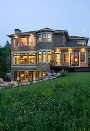 walkout basement designs walkout basement house plans for a rustic exterior with a stacked