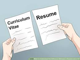 What Is The Difference Between Resume And Cv 3 Ways To Understand The Difference Between A Resume And A Cv