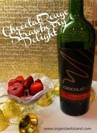 Chocolate Shop Wine Chocolate Wine Strawberry Delight With Chocolatrouge