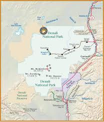 denali national park map travel to denali national park alaska with bearfoot guides mt