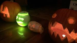 carve a honeydew jack o lantern this halloween