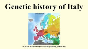 Genetic Map Of Europe by Genetic History Of Italy Youtube