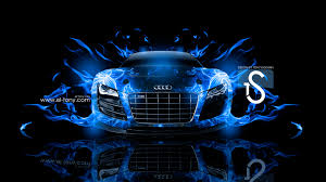 audi r8 wallpaper blue audi r8 fire car abstract 2013 el tony part 3