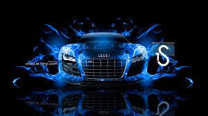 audi r8 wallpaper blue audi r8 fire car abstract 2013 el tony part 3
