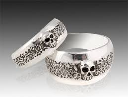 skull wedding rings best 25 skull wedding ring ideas on mens skull rings